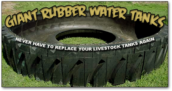 Giant Rubber Watertank
